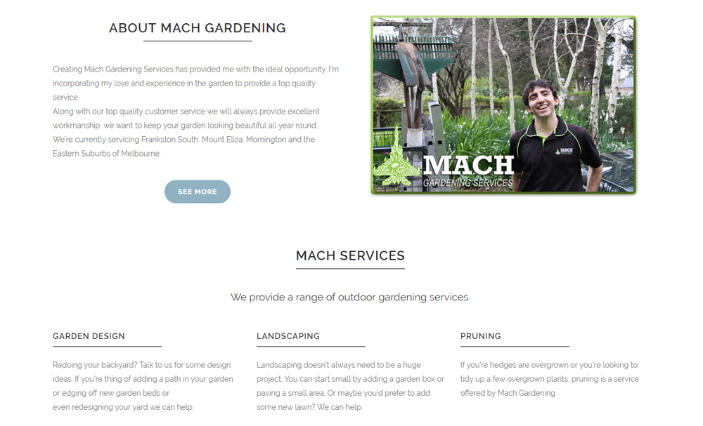 Mach Gardening Services