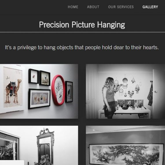 Precision Picture Hanging