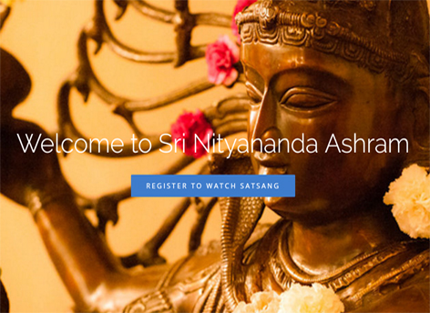 Satsang Live Home Sri Nityananda Ashram